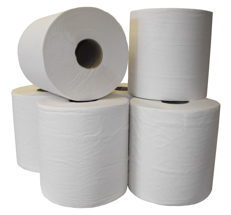 Centrefeed 2ply White Standard Roll
