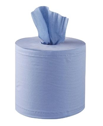 Centrefeed 2ply Blue Standard Roll