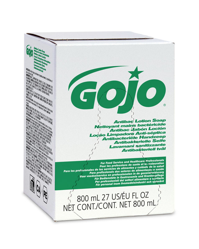 Gojo Anti-Bacterial Lotion Soap Skin Cleanser 800ml