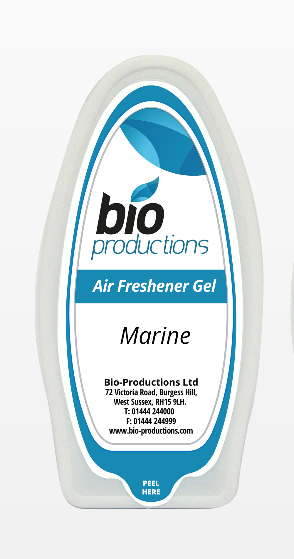 Solid Gel Marine Fragranced Air Freshener