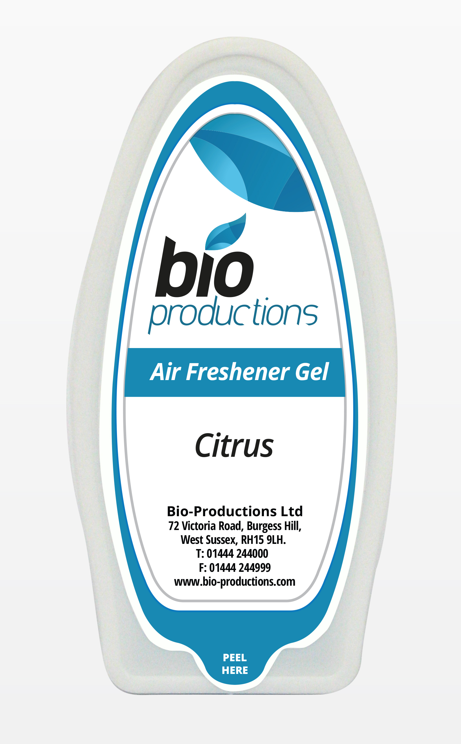 Solid Gel Citrus Fragranced Air Freshener