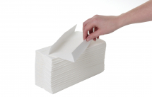 White 2Ply Lux C-Fold Hand Towels