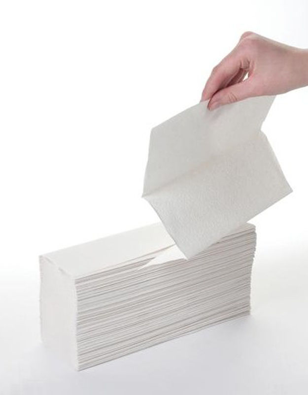 White 2Ply Z-Fold Hand Towels