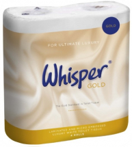 Deluxe 3Ply White Super Toilet Roll