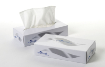 White 2Ply Facial Tissue