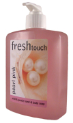 Pink Perfumed Hand Soap 500ml