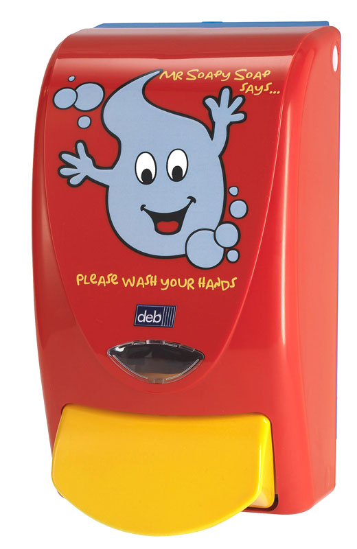 Deb Childrens Dispenser 1l Mr Soapy Soap