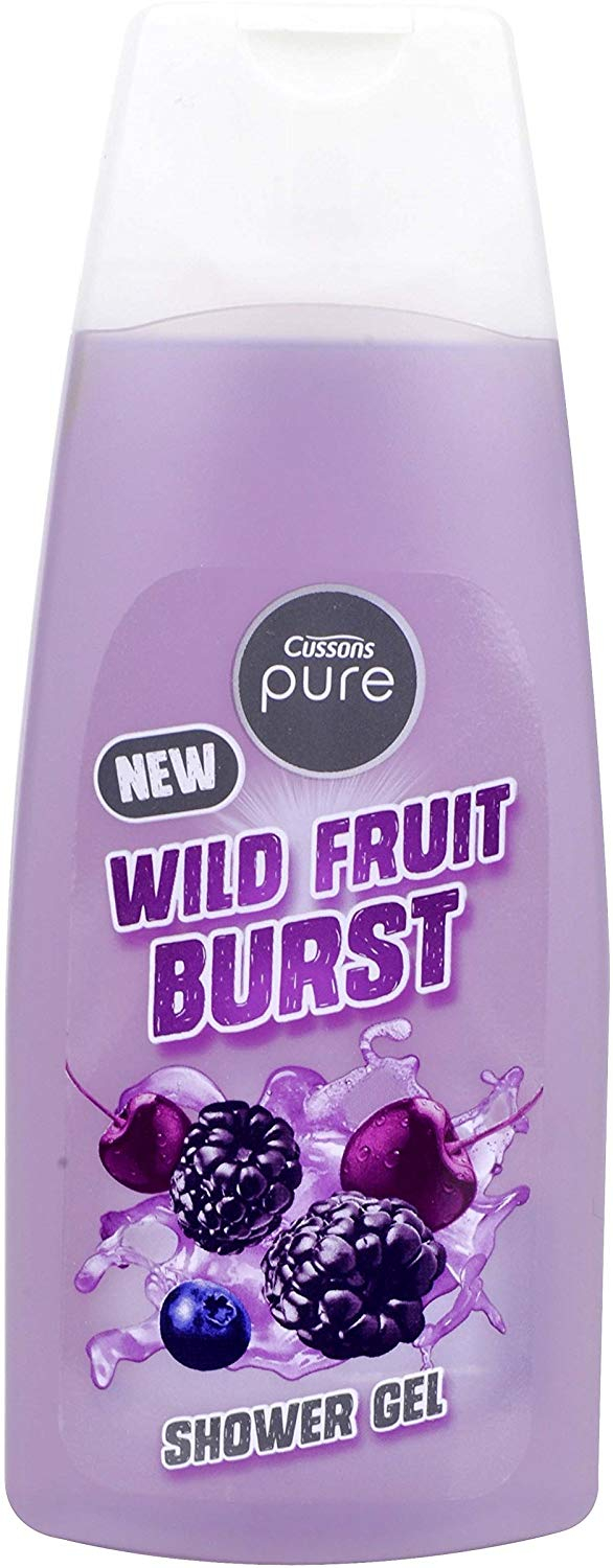 Cussons Shower Gel 500ml Wild Fruit Burst