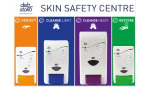 Deb Skin Safety Centre Board(2x1000,1x2000,1x4000 Dispenser)