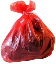 Red Soluble Strip Sacks