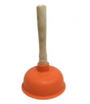 Sink and Toilet Rubber Plunger
