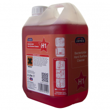 H1 Concentrated Bactericidal Hard Surface Cleaner 2ltr
