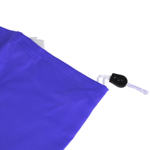 Laundry Bag with Pull String Blue