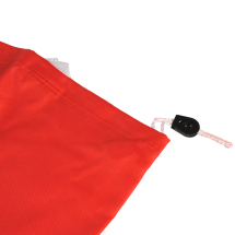 Laundry Bag with Pull String Red