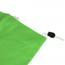Laundry Bag with Pull String Green