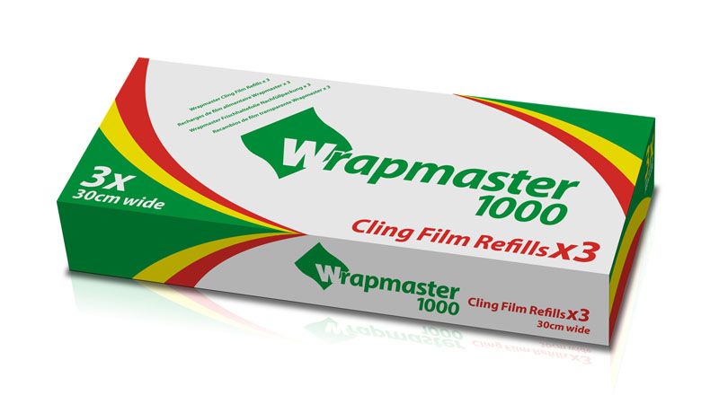 Wrapmaster Clingfilm 1000 Refill 30cm