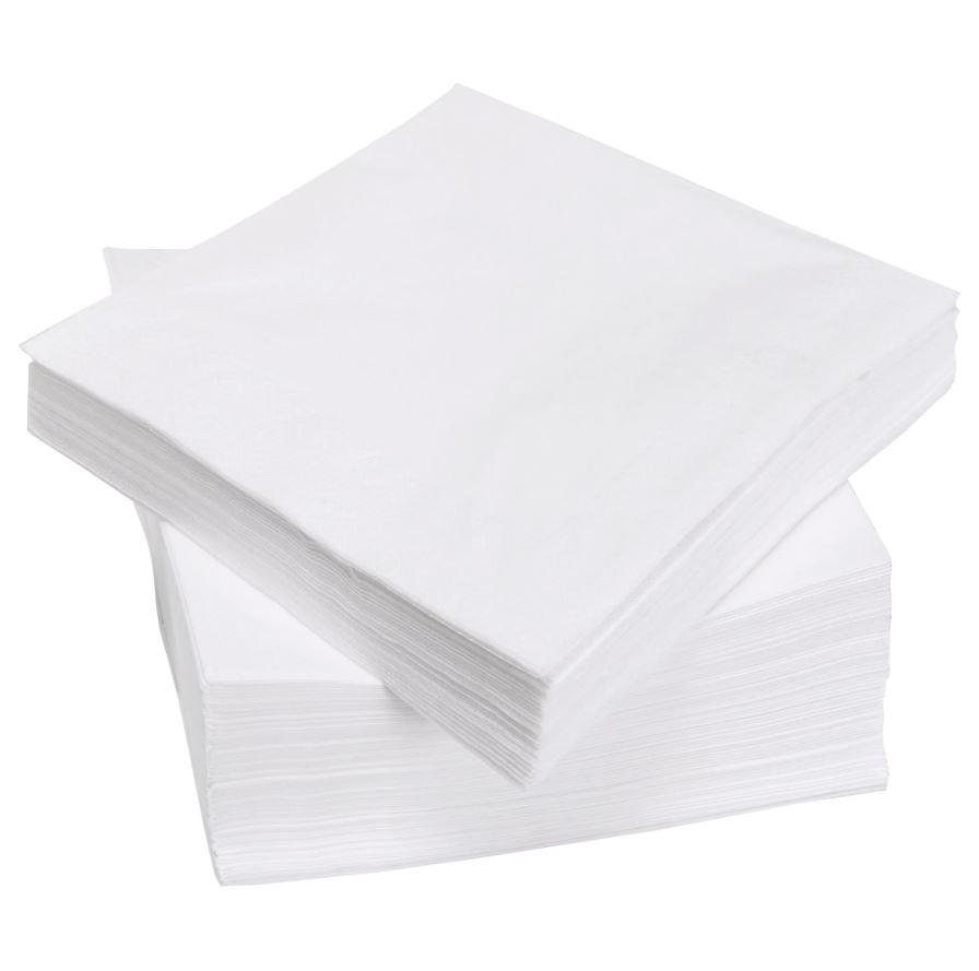 White Extra Soft Tex Napkins 3ply 40cm