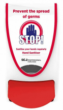 Deb Dispenser (Stop! Sanitise Your Hands)