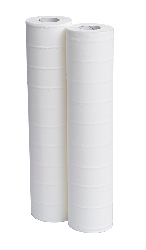 20inch Medical Couch Rolls 2Ply White