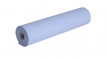 20inch Medical Couch Rolls 2Ply Blue