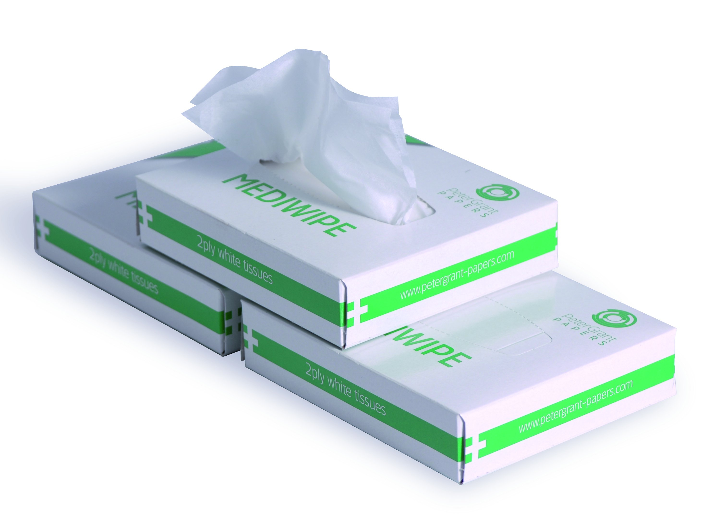 2Ply White Medical Wipes