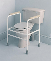 Toilet Frame With Floor Fixing