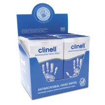 Clinell Antibacterial Wipes (Individually Wrapped)
