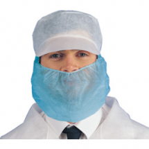 Disposable Blue Beard Masks