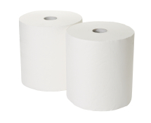 3Ply White Industrial Roll