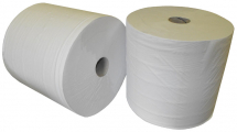 White 1000 Sheet 2Ply Industrial Roll