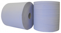 Blue 1000 Sheet 2Ply Industrial Roll