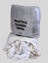 White Towelling Rags 9kg