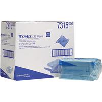 Wypall 7315 Blue Folded Hand Towels