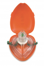 Pocket Resus Mask & Oxygen Port Adult