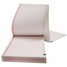 GE Mac 800 ECG Paper Z-Fold 150 Sheets 110x140mm
