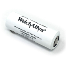 Welch Allyn 3.5v Battery White & Black Print