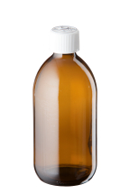 500ml Amber Glass Medopac Bottles