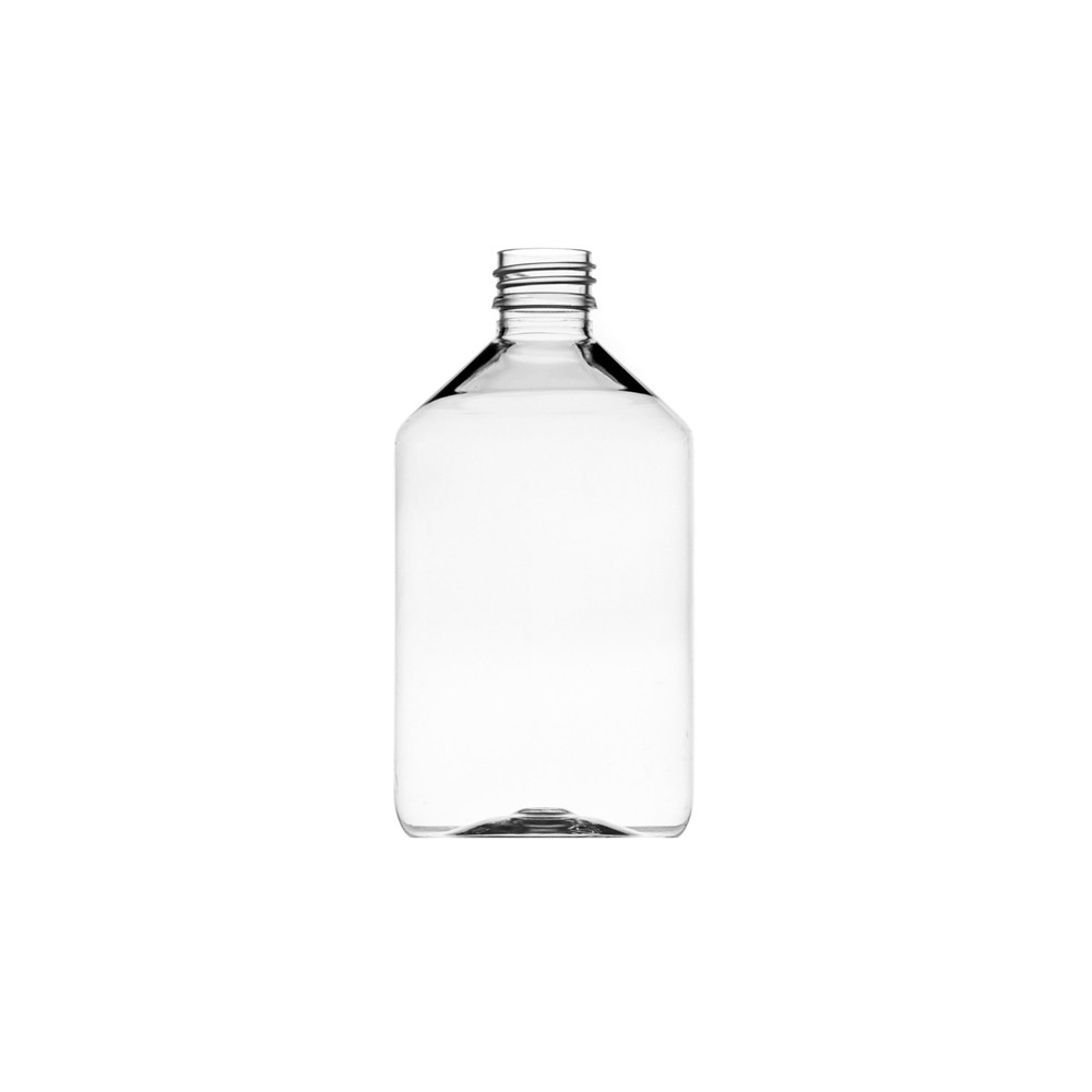500ml Veral Pet Conical Clear Bottle 28mm Neck
