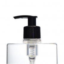 28mm Black Smooth Lotion Pump