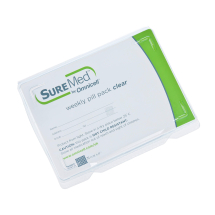 Suremed Weekly Pill Pack with Clear Seals CL01