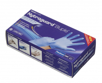 Nitrile Gloves Powder Free n/s 100's