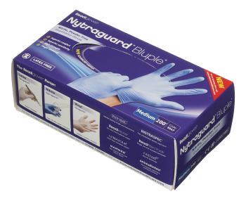 Nitrile Gloves Powder Free n/s 200's